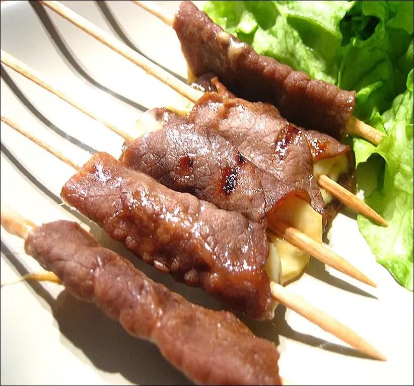 recette brochette yakitori boeuf