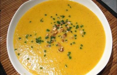 soupe de patates douces au muscat