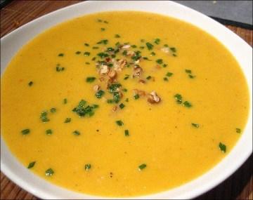 soupe et celeri rave