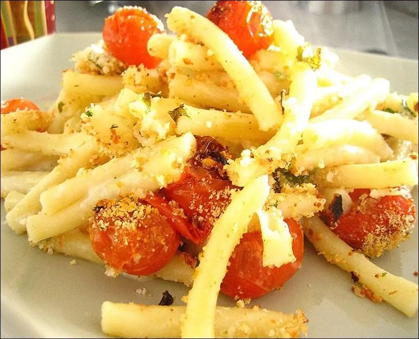 gratin macaroni tomate sauce parmesan