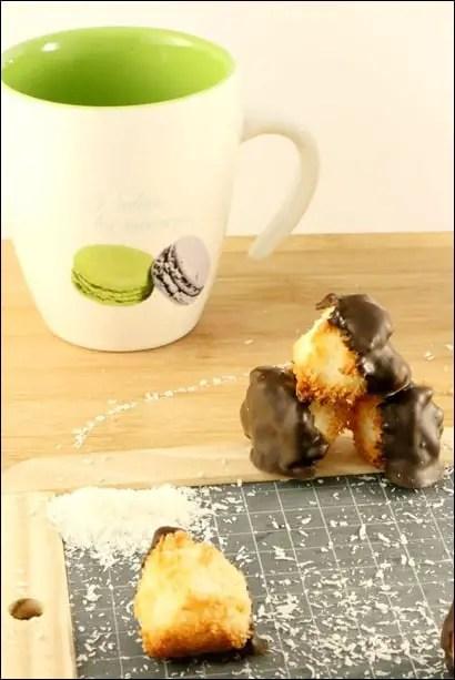rocher coco chocolat recette