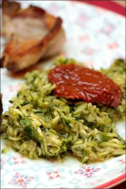 salade de courgettes rapées