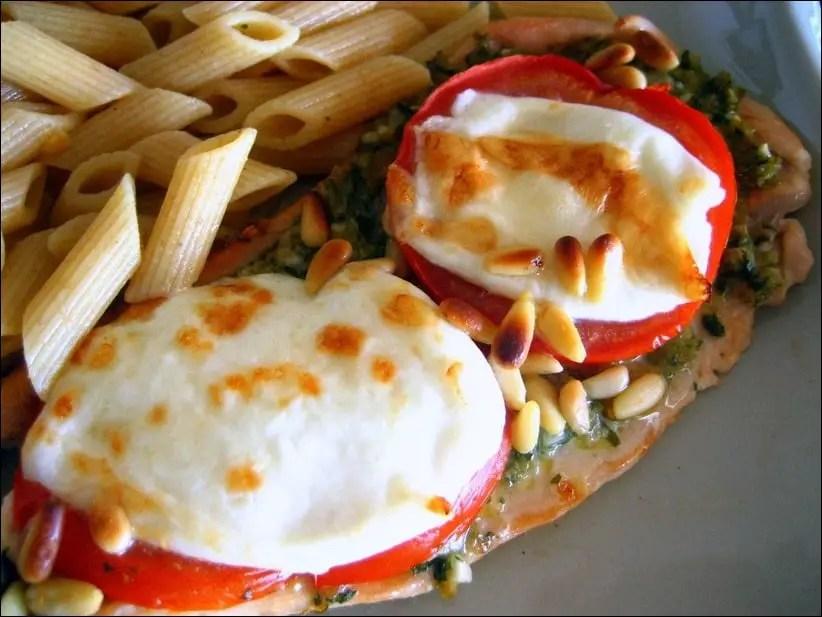 escalope dinde tomate mozzarella