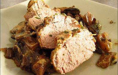 filet mignon champignon au four
