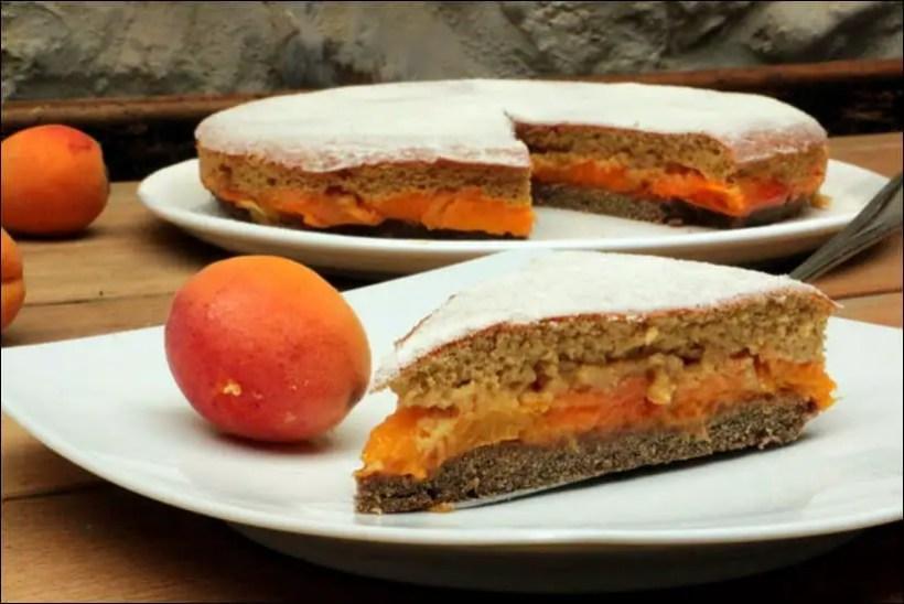 gateau abricot amande sans beurre