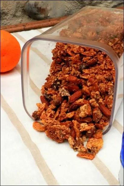 granola maison aux amandes