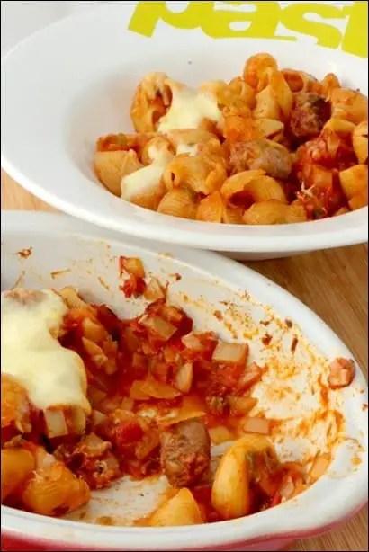Gratin-pates-tomate-chipolatas (6)
