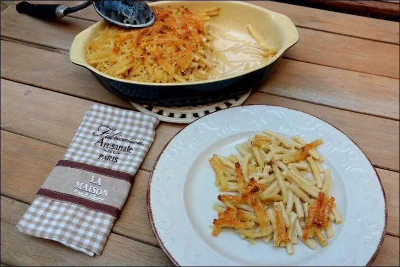 gratin macaroni fromage