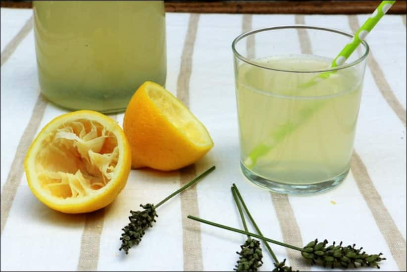 recette limonade citron lavande