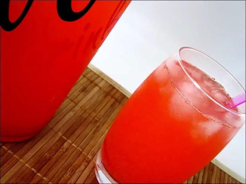 limonade fraise citron vert