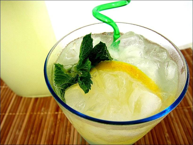 limonade gingembre menthe