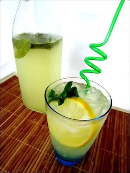 limonade gingembre citron menthe