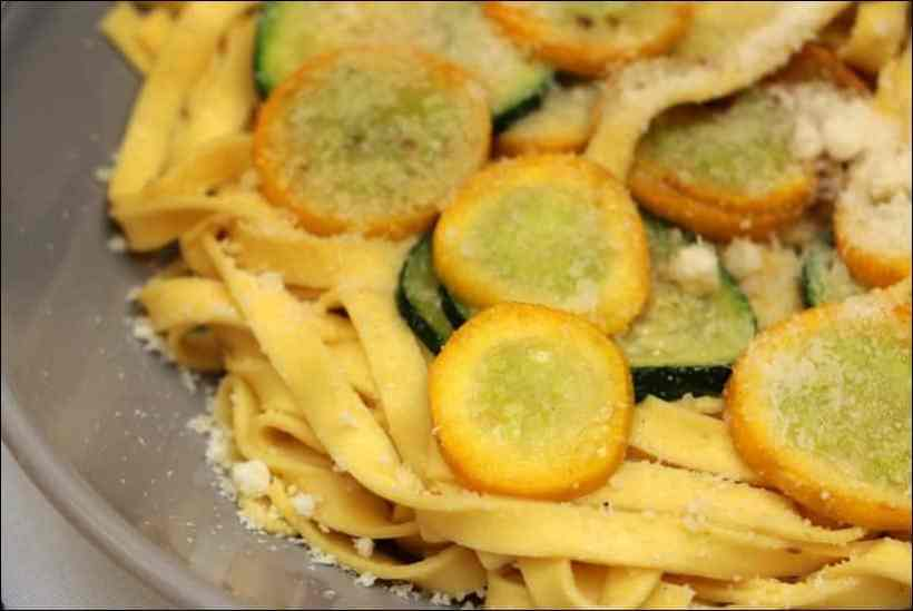 pates courgettes