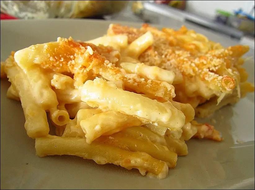 macaroni fromage au four