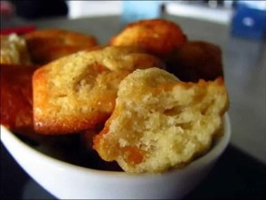 madeleines pomme orange confite
