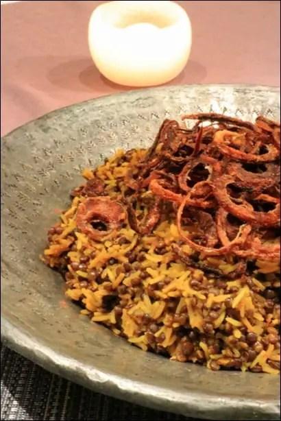 mejadra riz oignon