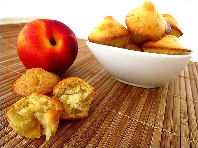 muffins à la nectarine