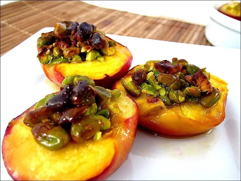 nectarine roties pistaches