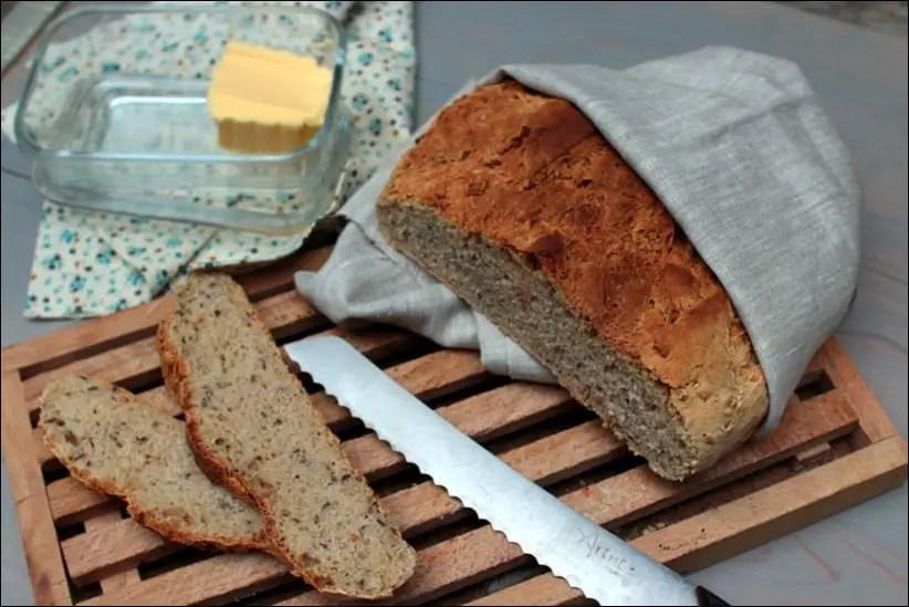 pain d'épeautre en cocotte
