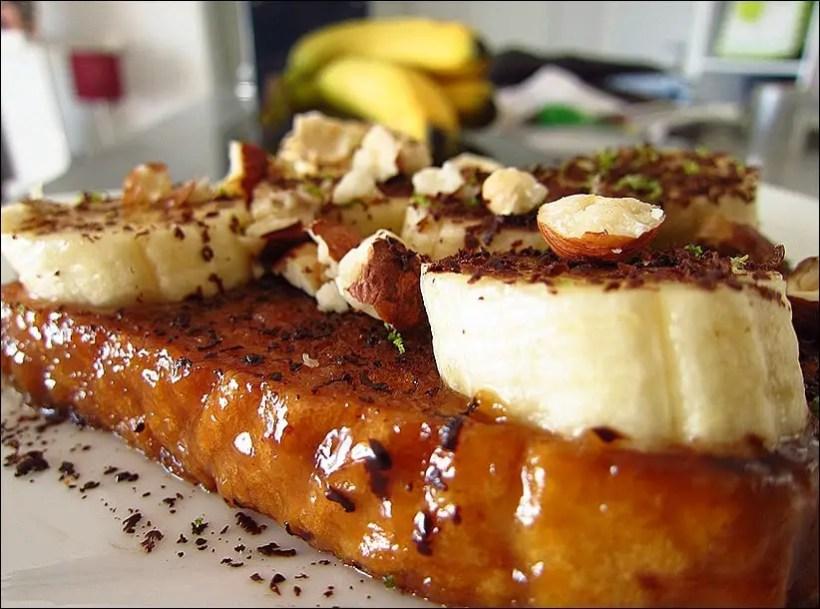pain perdu banane