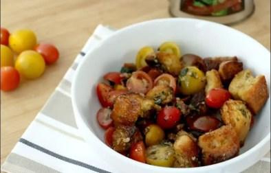 panzanella à la tomate