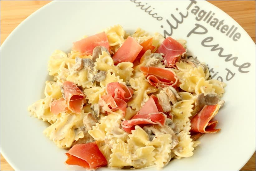 pates jambon mascarpone
