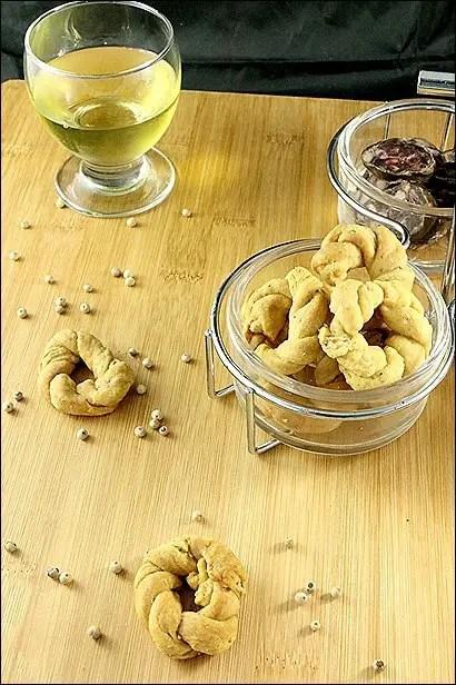 recette biscuits au poivre