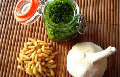 pesto vert traditionnel alla genovese