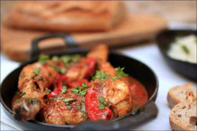 poulet gingembre tomate
