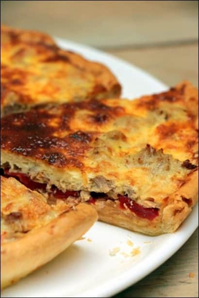 quiche ton au naturel