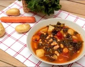 ribollita soupe de légumes toscane
