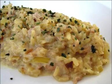 risotto thon parmesan vin blanc