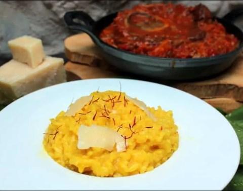 risotto au safran recette