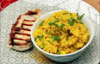riz pilaf aux épices et au chou-fleur