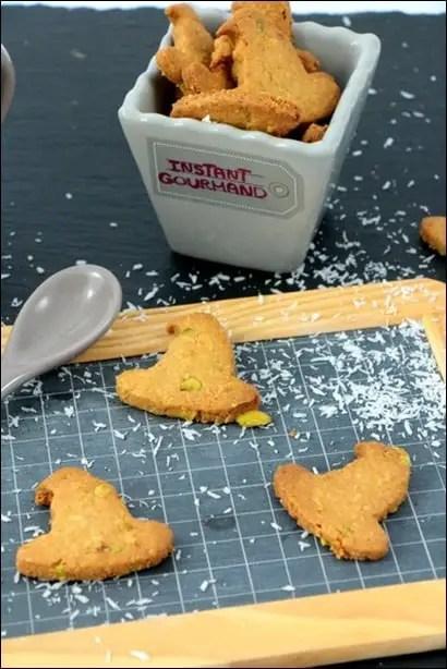 biscuits coco pistache