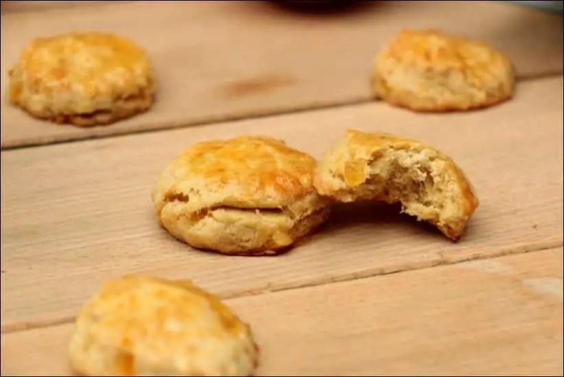 biscuits orange confite