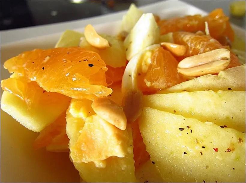salade endives aux pommes
