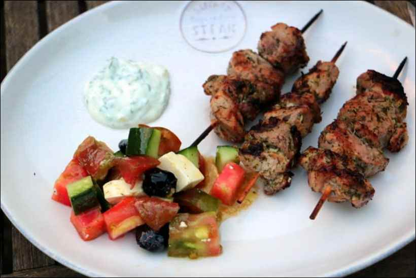 salade grecque tomate concombre feta