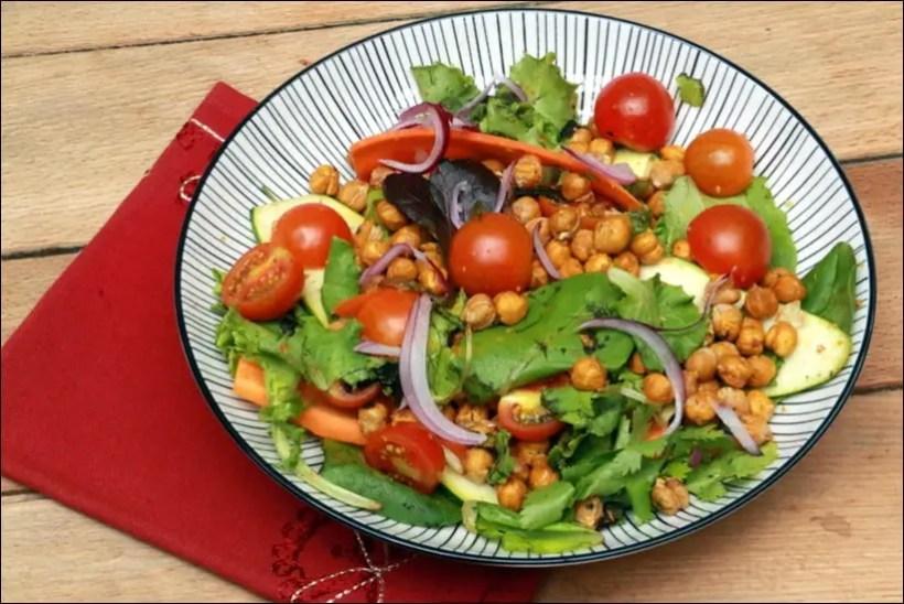 salade de pois chiches au cumin