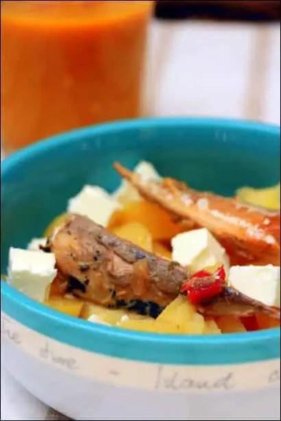 salade pomme de terre maquereau