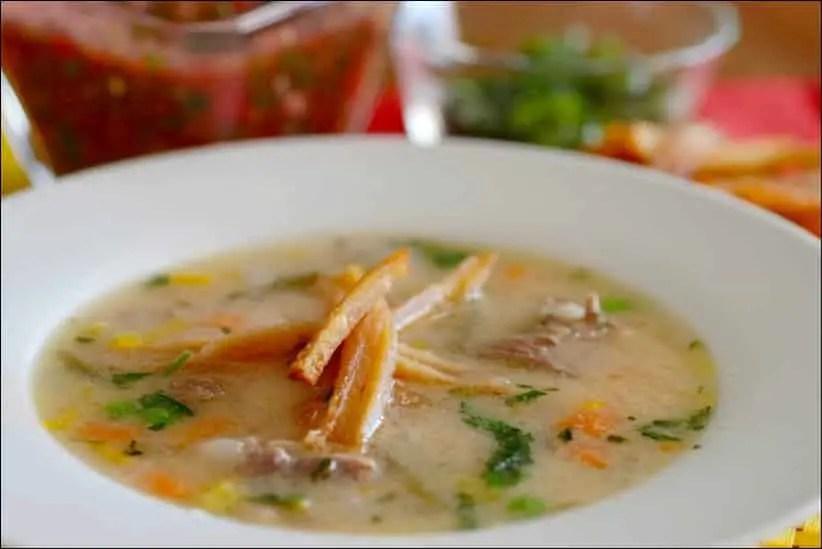 recette sopa de mani