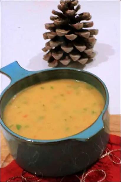 soupe fenouil pomme de terre