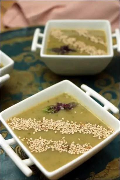 recette soupe froide artichaut