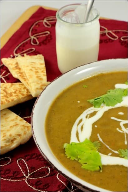 soupe indienne aux legumes