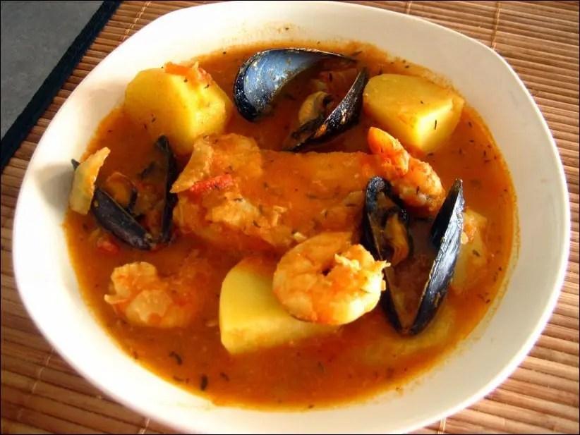soupe de poisson espagnole