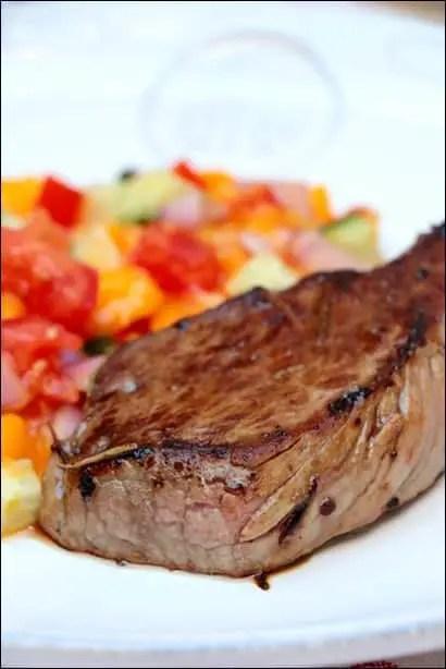 recette steak et salsa