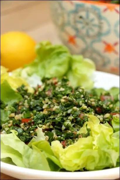 taboulé libanais herbes