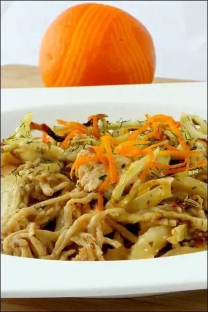 recette pates saumon fenouil