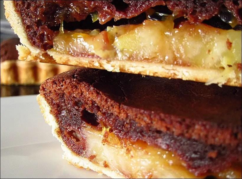tarte chocolat banane passion