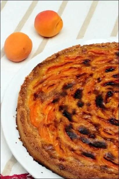 tarte abricots poudre amande